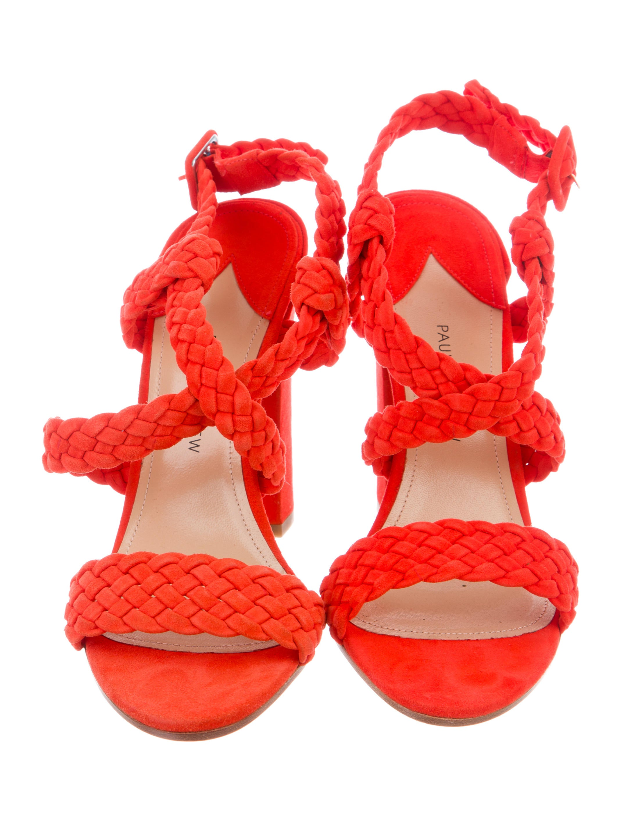 outlet cheap Paul Andrew Elisabet Braided Sandals w/ Tags get to buy sale online outlet 2014 new low cost cheap online cGWEKaxA
