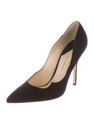 Paul Andrew Suede Zenadia Pumps w/ Tags free shipping sast cheapest price online free shipping outlet store 0kcTJG