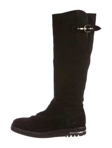 cheap sale enjoy Paciotti By Midnight Suede Knee-High Boots free shipping cost pwv0RI0fHy