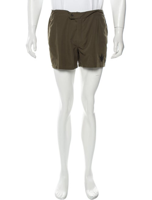 Palm Angels Swim Shorts w/ Tags olive
