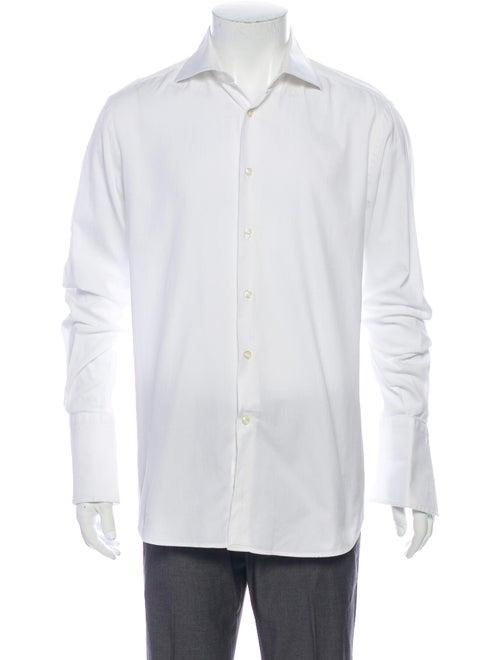 Pal Zileri Long Sleeve Dress Shirt White