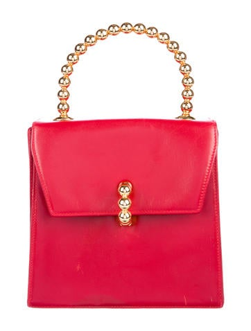 Paloma Picasso Leather Handle Bag