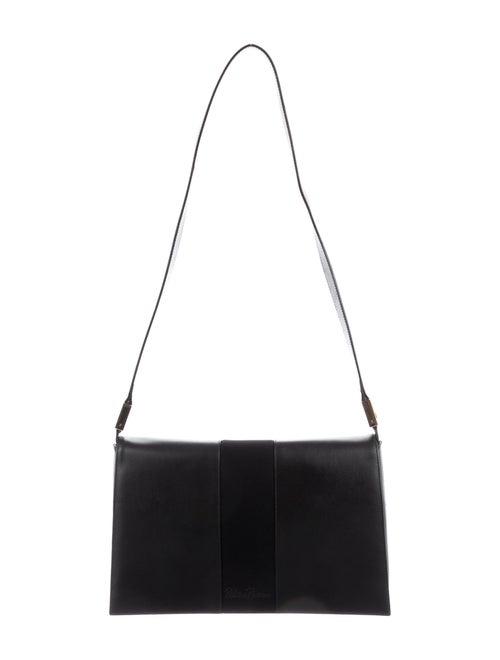 Paloma Picasso Leather Shoulder Bag Black