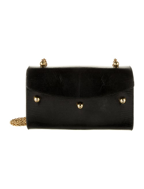 Paloma Picasso Leather Embossed Crossbody Bag Blac