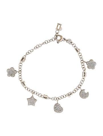 Pasquale Bruni 18K Diamond Charm Bracelet None
