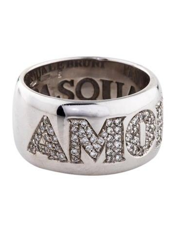 Pasquale Bruni Diamond Amore Ring None