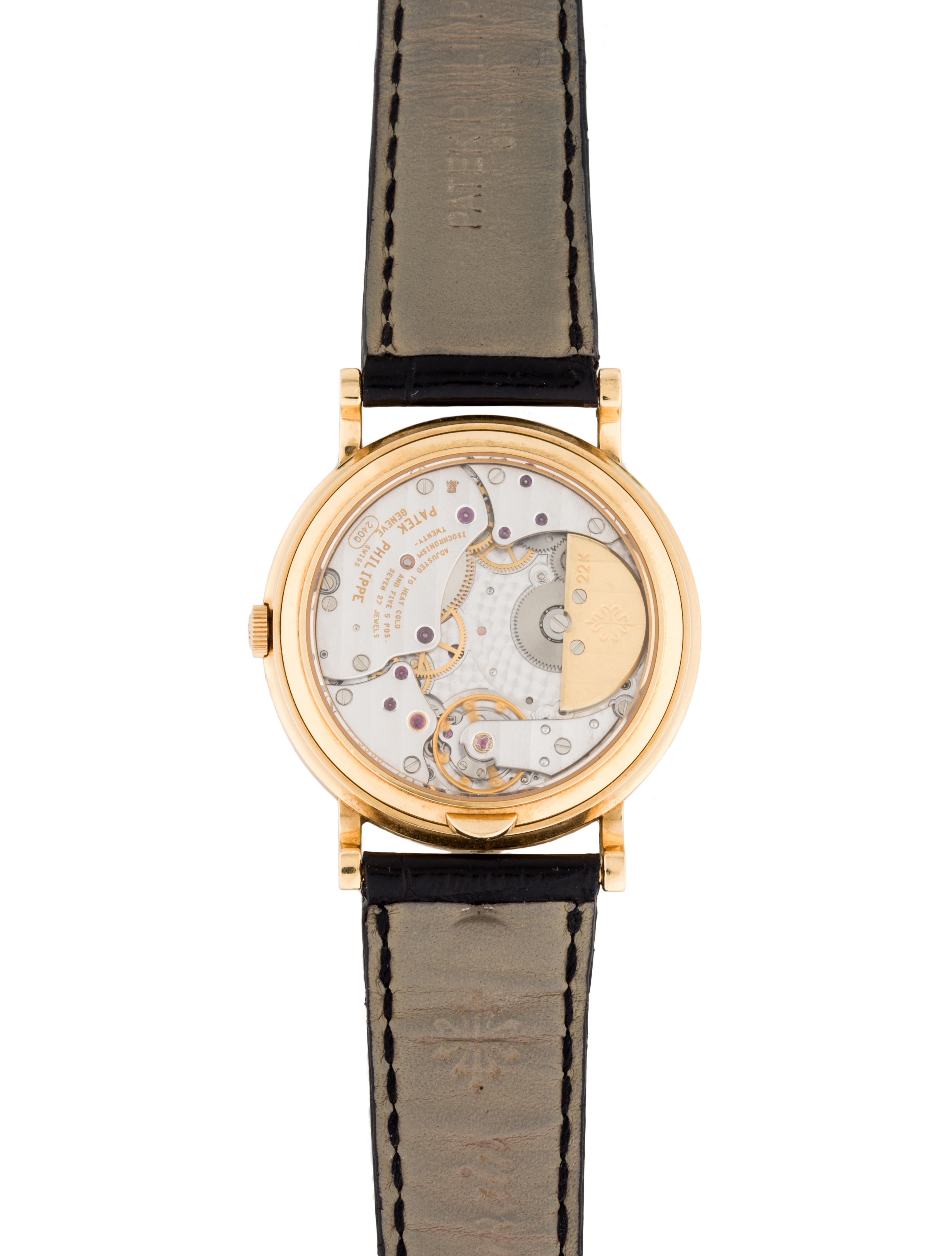 Perpetual Calendar Watch : Patek philippe j perpetual calendar watch strap