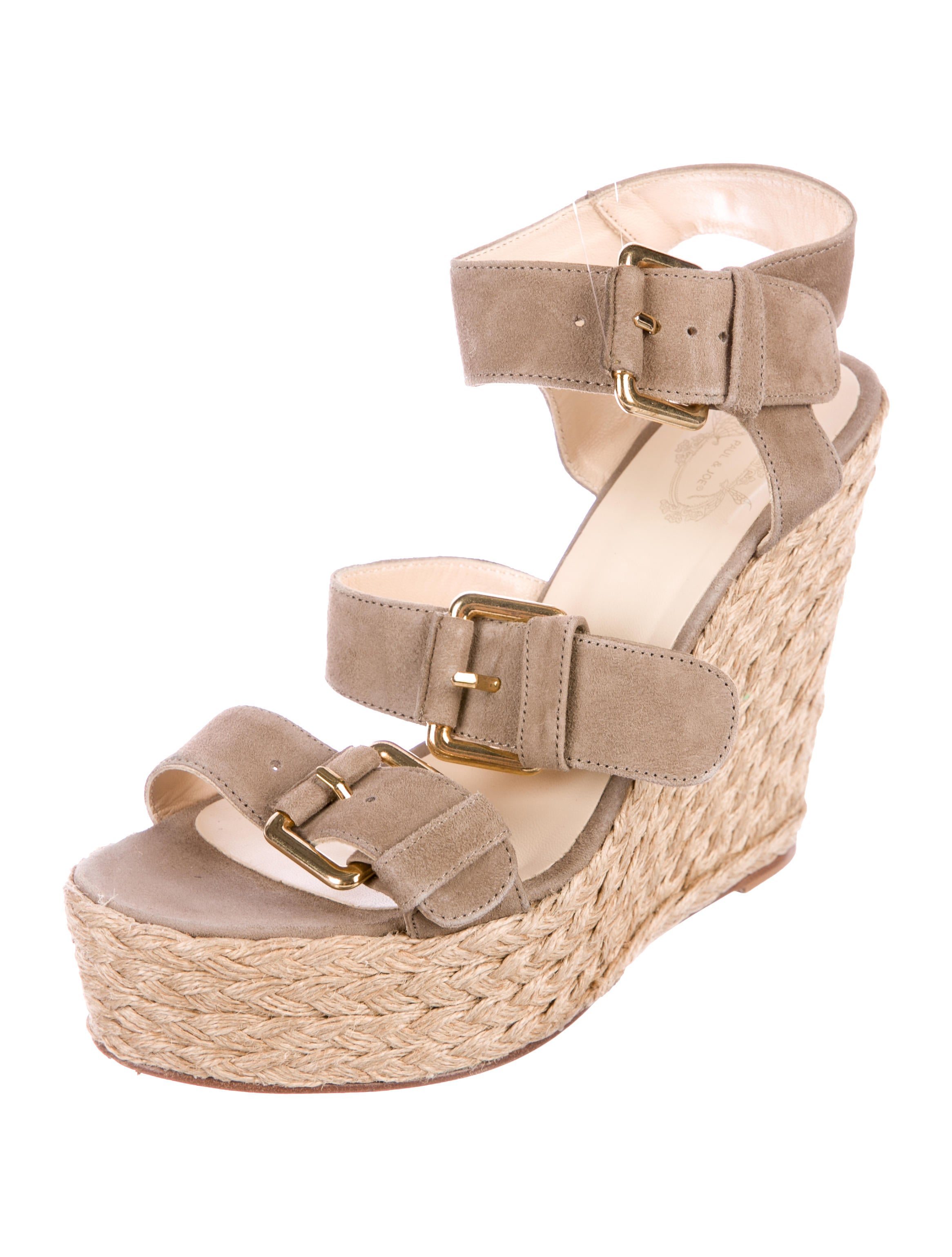 discount amazing price Paul & Joe Winni Suede Wedges clearance online cheap real sale in China ebay quality from china wholesale EIVX7SJzn