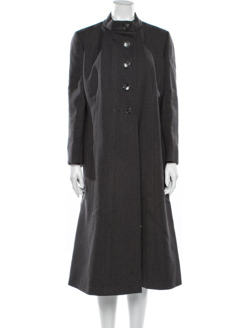 Pauline Trigere Coat Grey