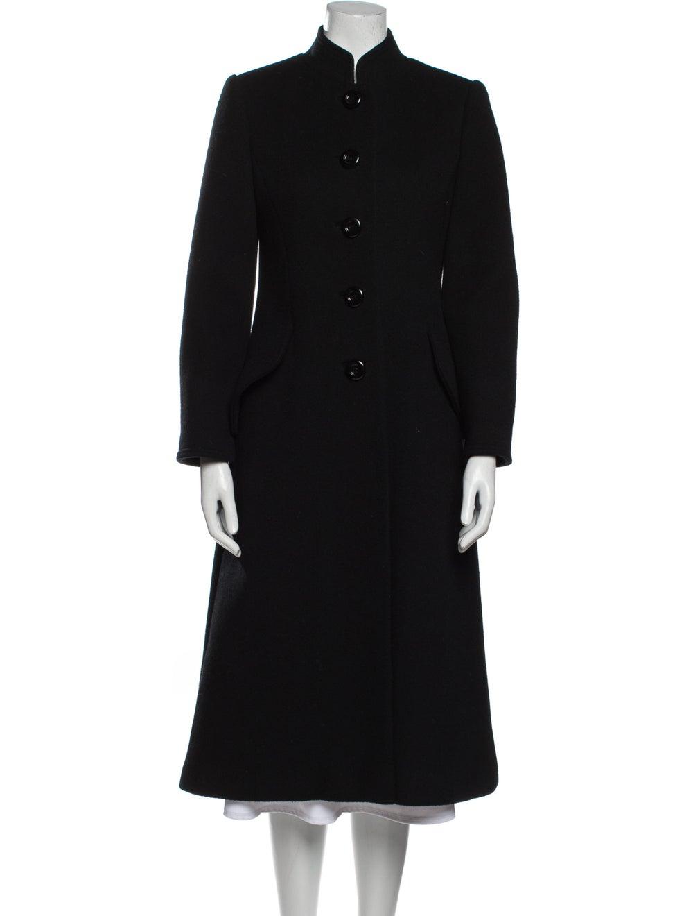 Pauline Trigere Coat Black - image 1