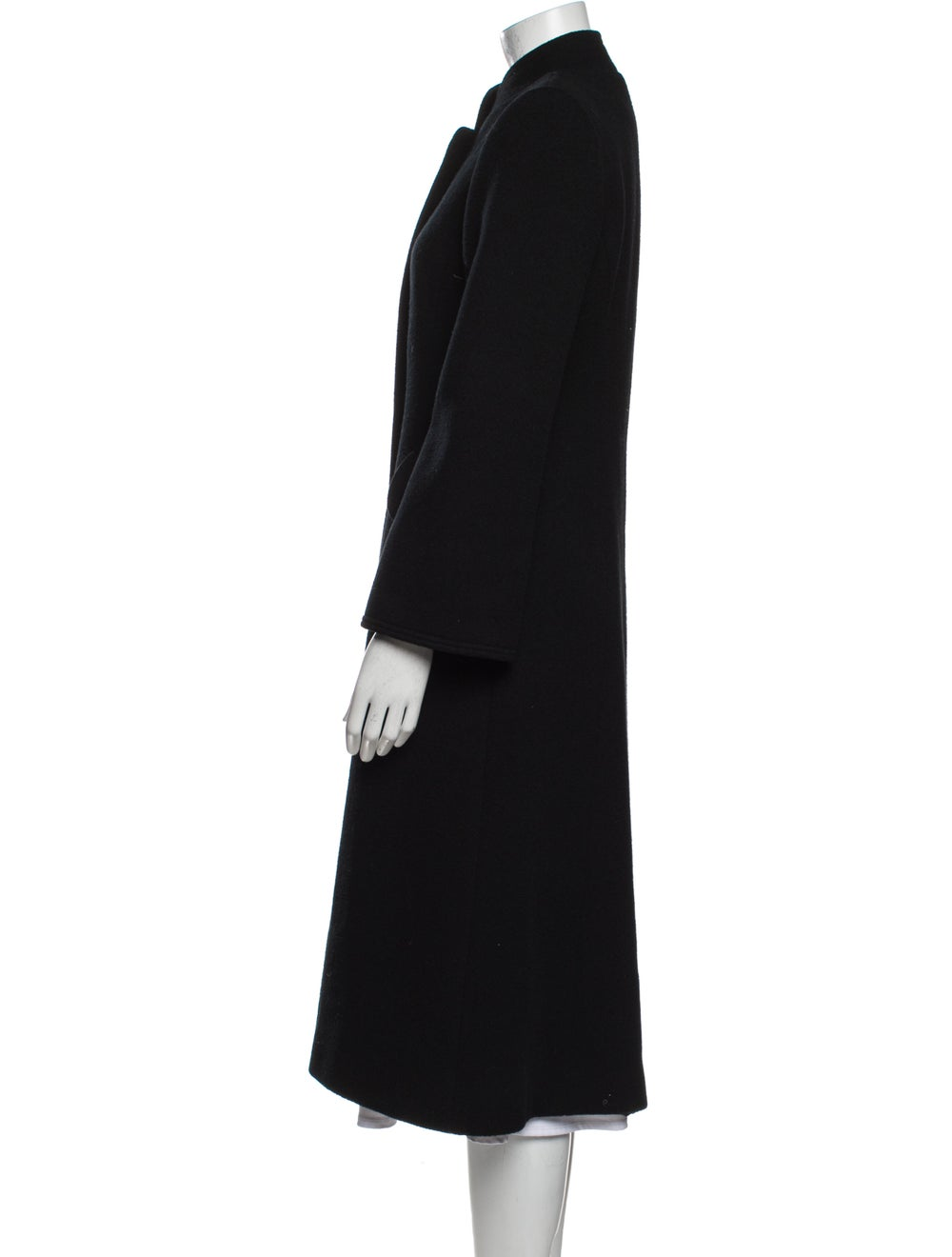 Pauline Trigere Coat Black - image 2