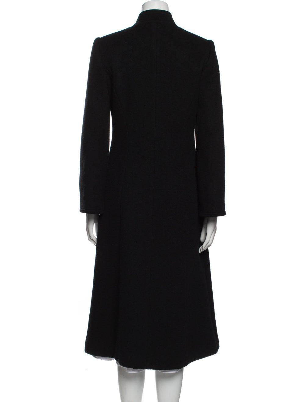 Pauline Trigere Coat Black - image 3