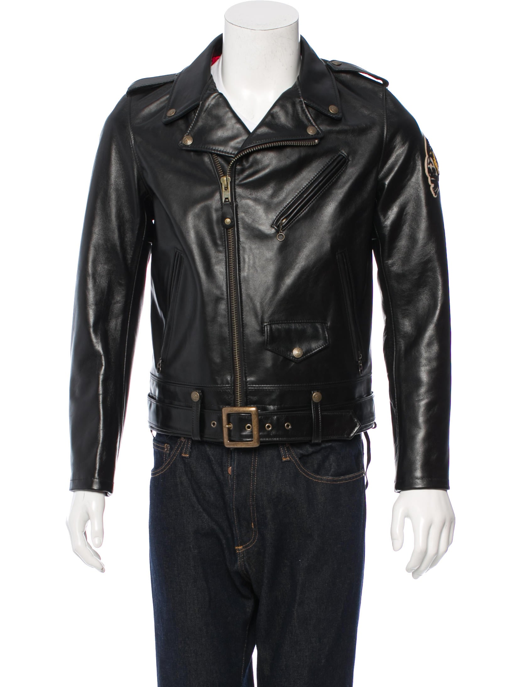 Perfecto Brand by Schott NYC Leather Biker Jacket ...