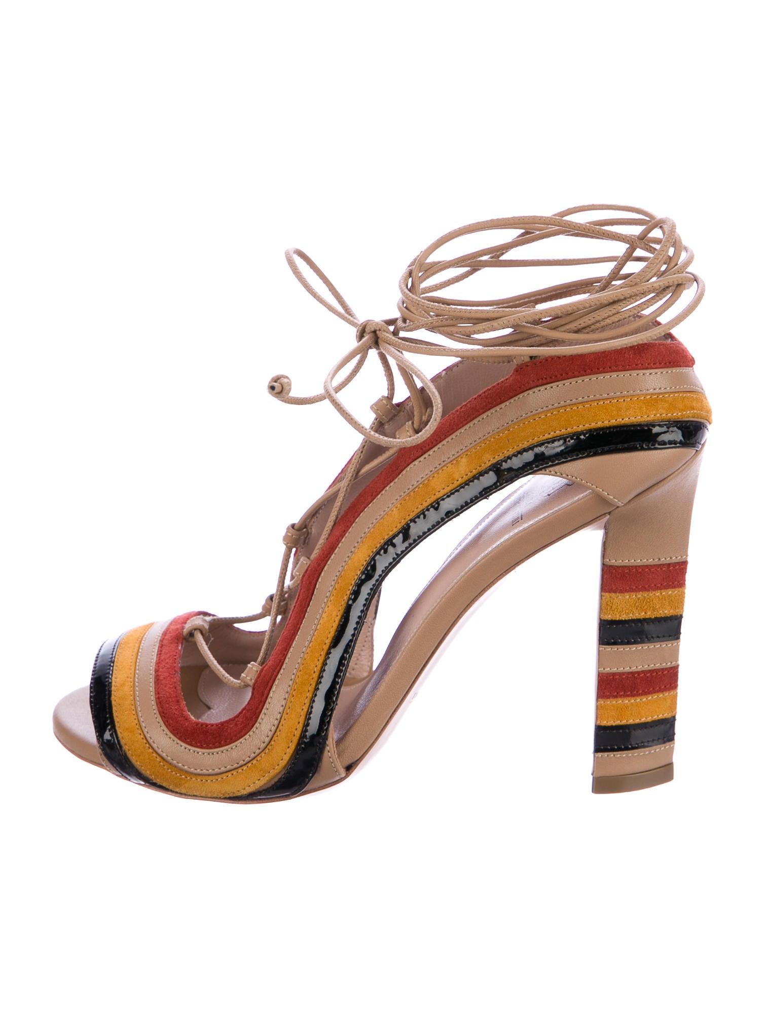 Paula Cademartori Leather Slide Sandals find great cheap price cheap discount sale perfect online buy cheap footlocker bWBcB