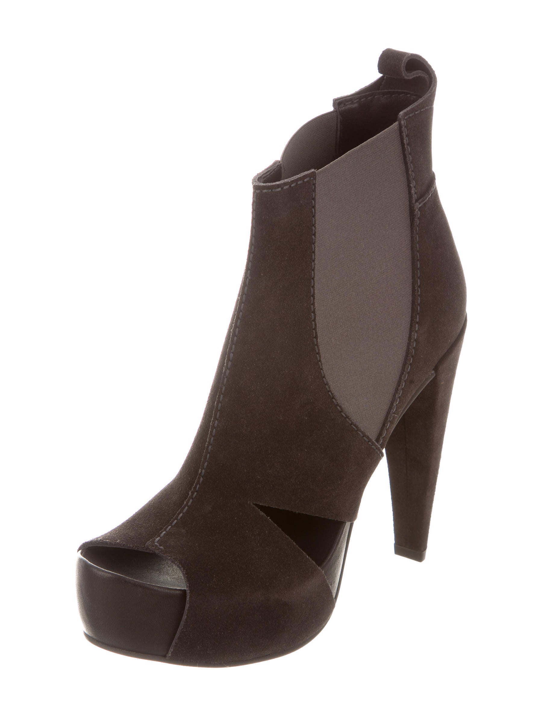 pedro garcia suede cutout ankle boots shoes ped22436