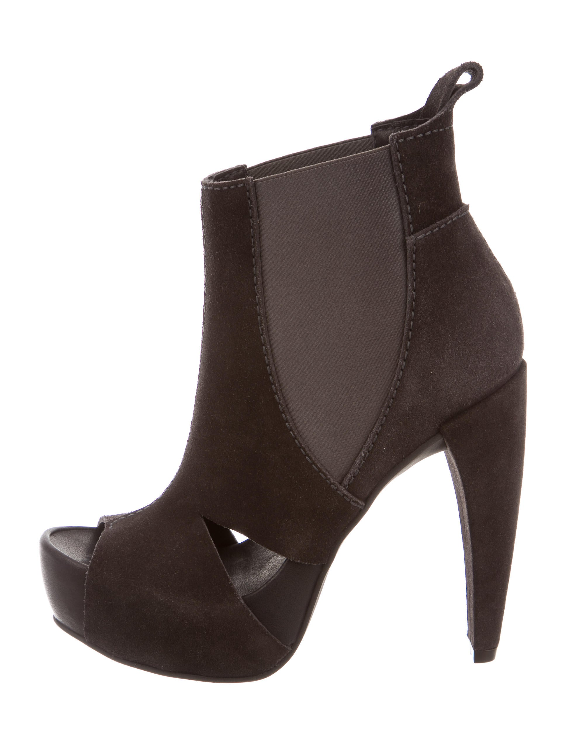 pedro garcia suede cutout ankle boots shoes ped22437