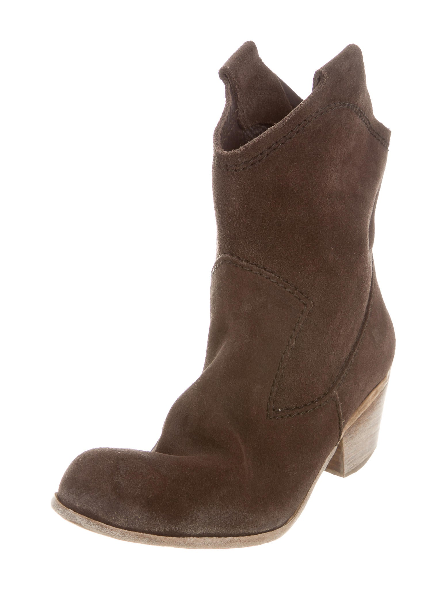 pedro garcia suede toe ankle boots shoes