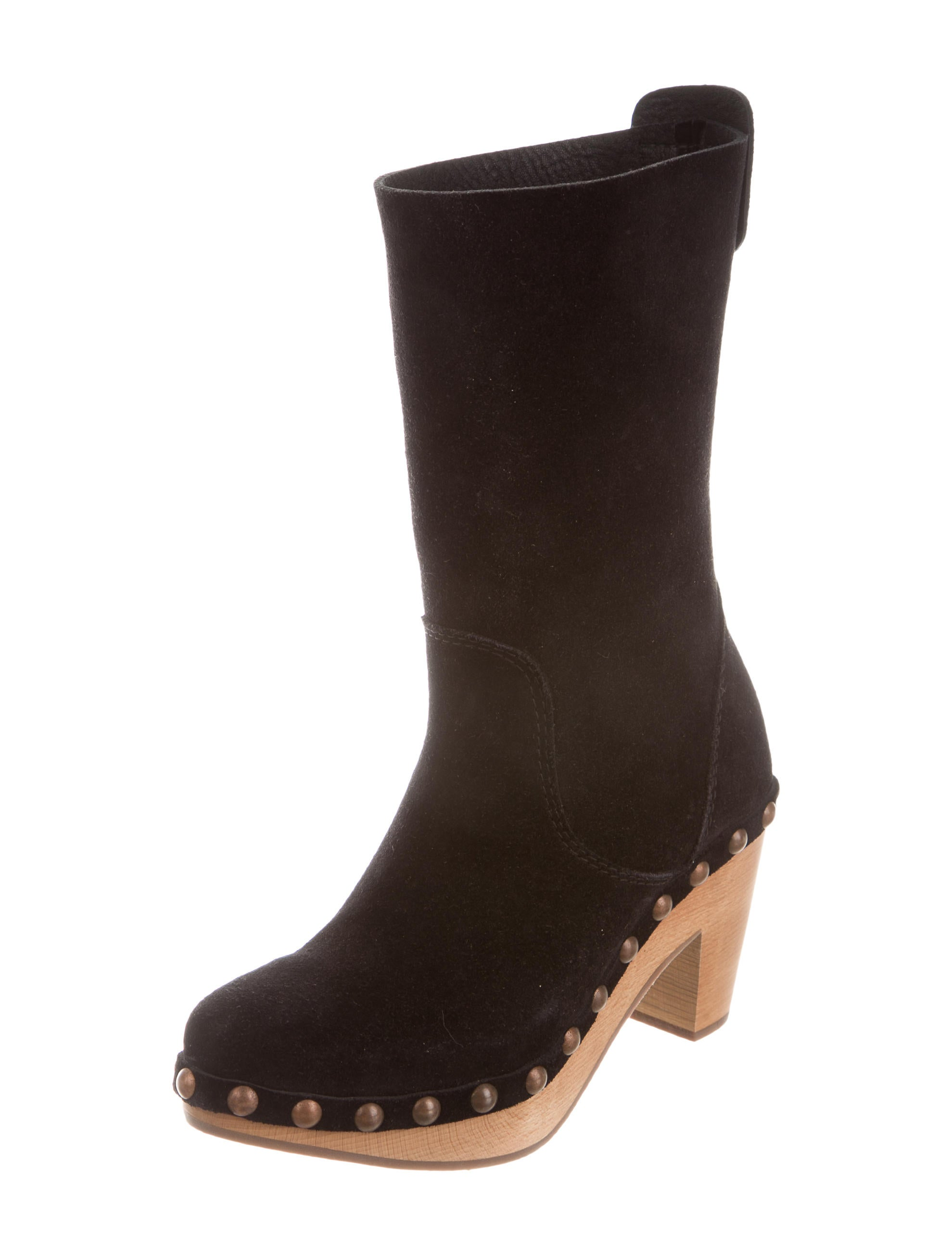 pedro garcia suede mid calf boots shoes ped22535 the