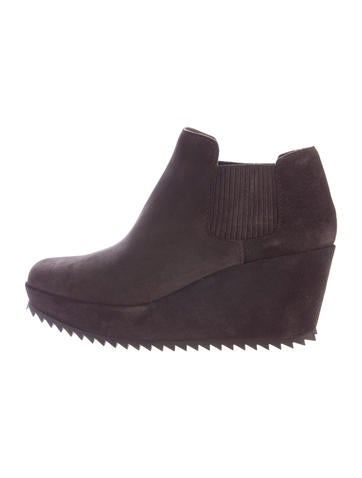 Pedro Garcia Fern Wedge Ankle Boots None