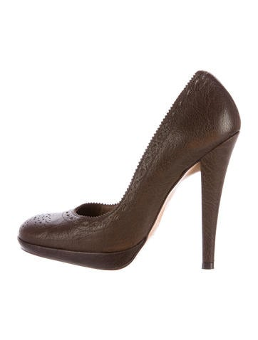 Pedro Garcia Niobe Leather Pumps