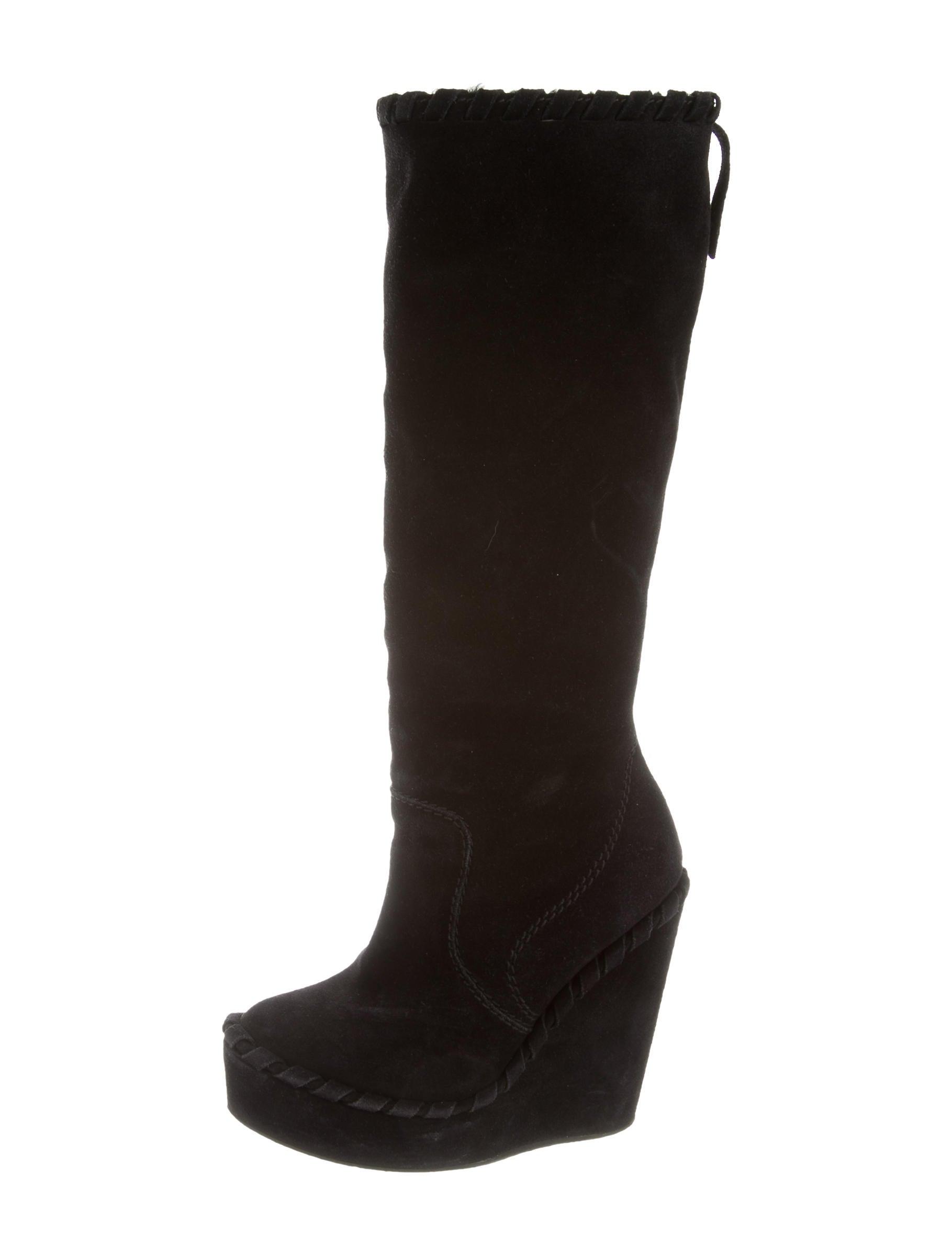 pedro garcia suede platform boots shoes ped23292 the