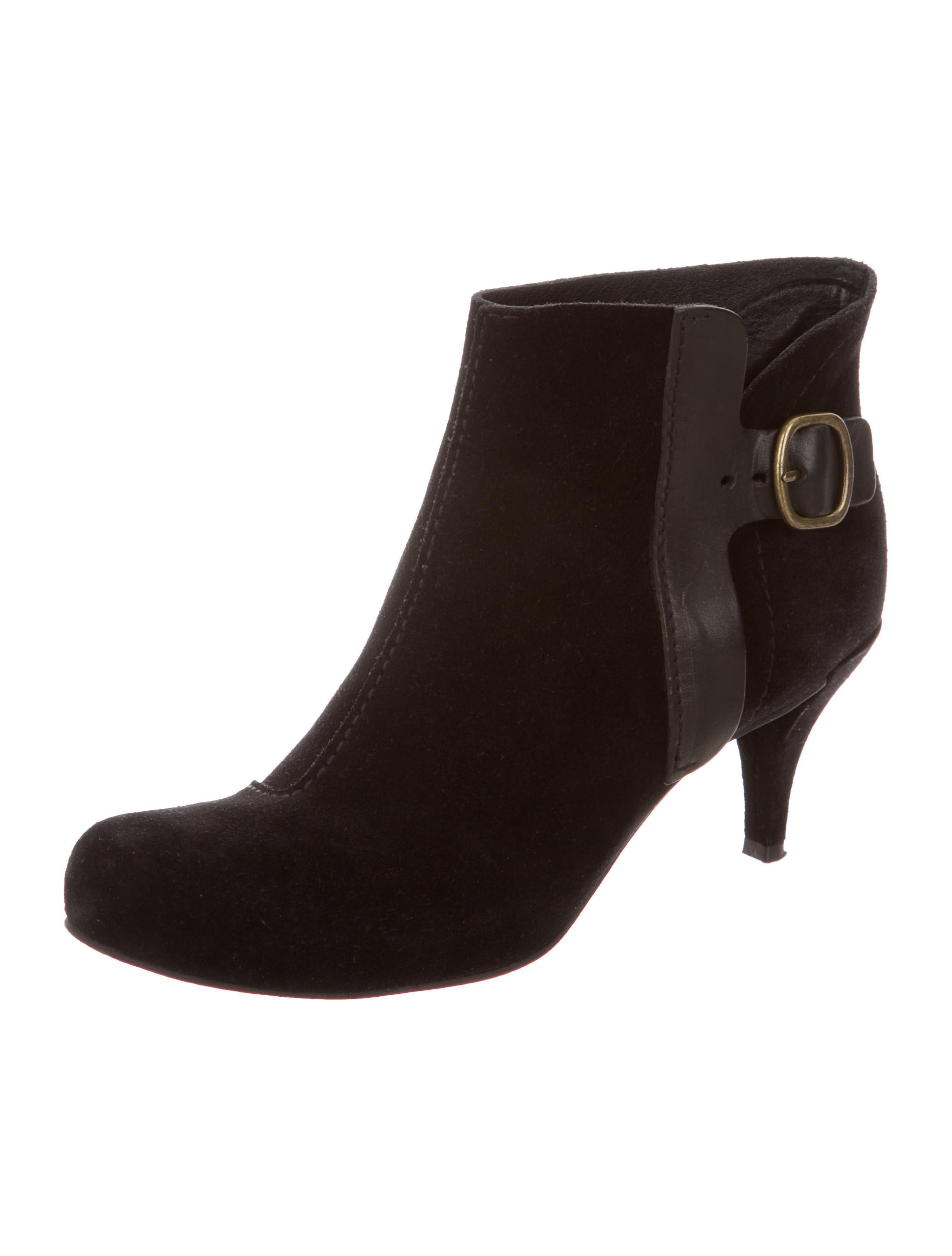 pedro garcia buckle accented ankle boots shoes