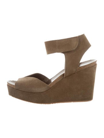 free shipping sast buy cheap 100% guaranteed Pedro Garcia Suede Wedge Sandals w/ Tags cheap sale Cheapest cheap sale Inexpensive AZdGnTlfny