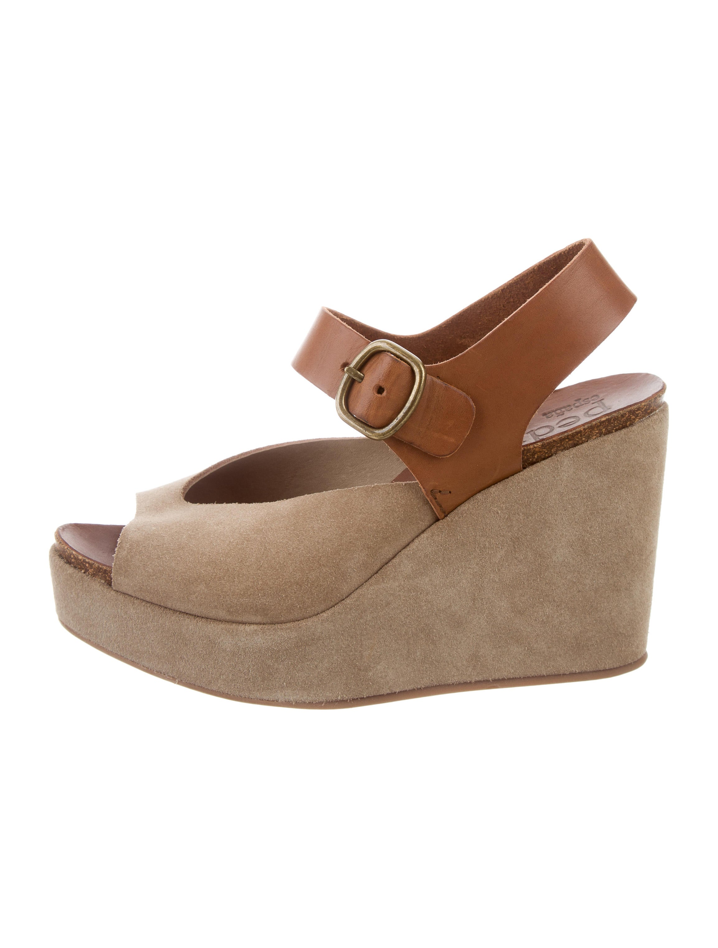 pedro garcia suede wedge sandals shoes ped24853 the