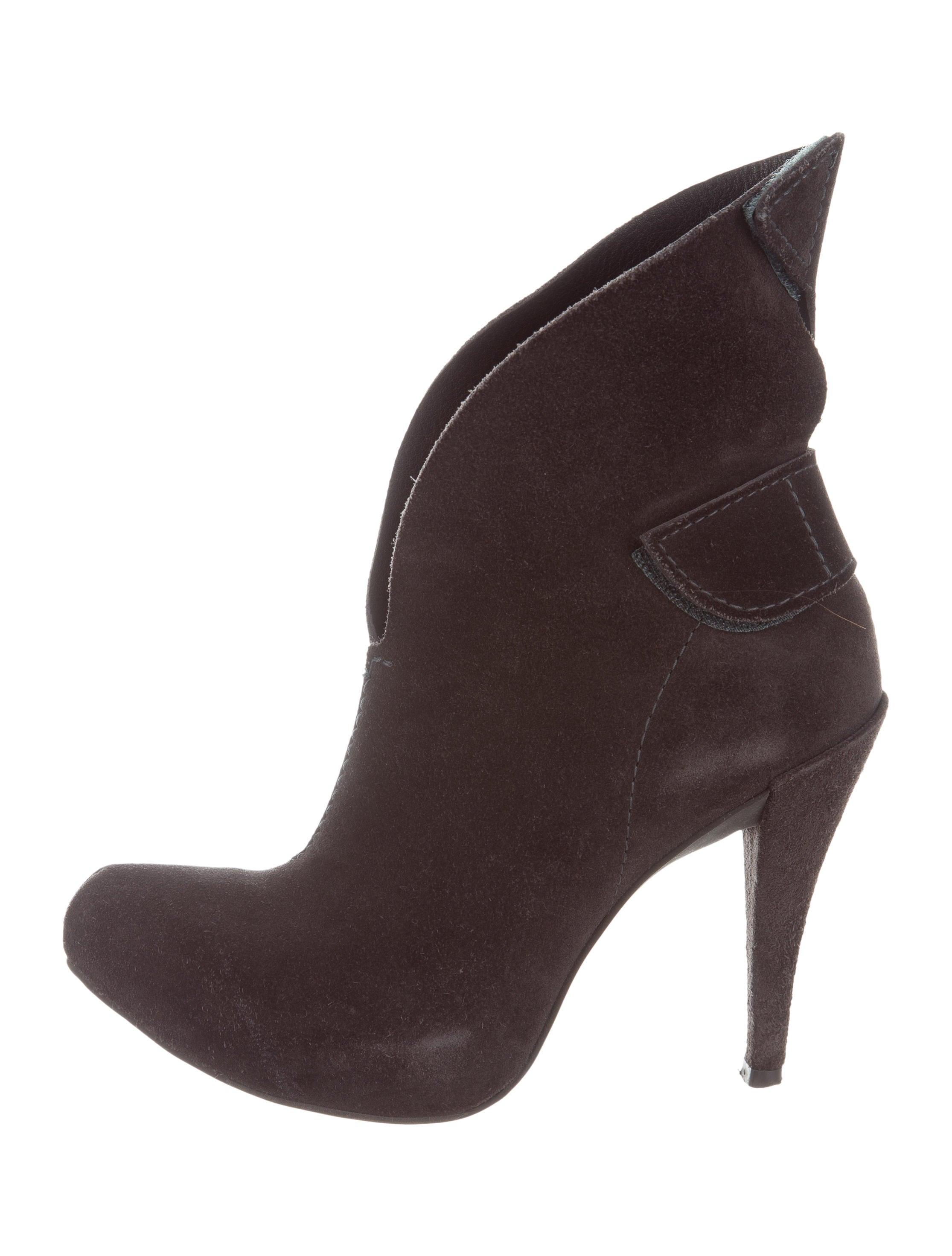 pedro garcia suede platform ankle boots shoes ped24886