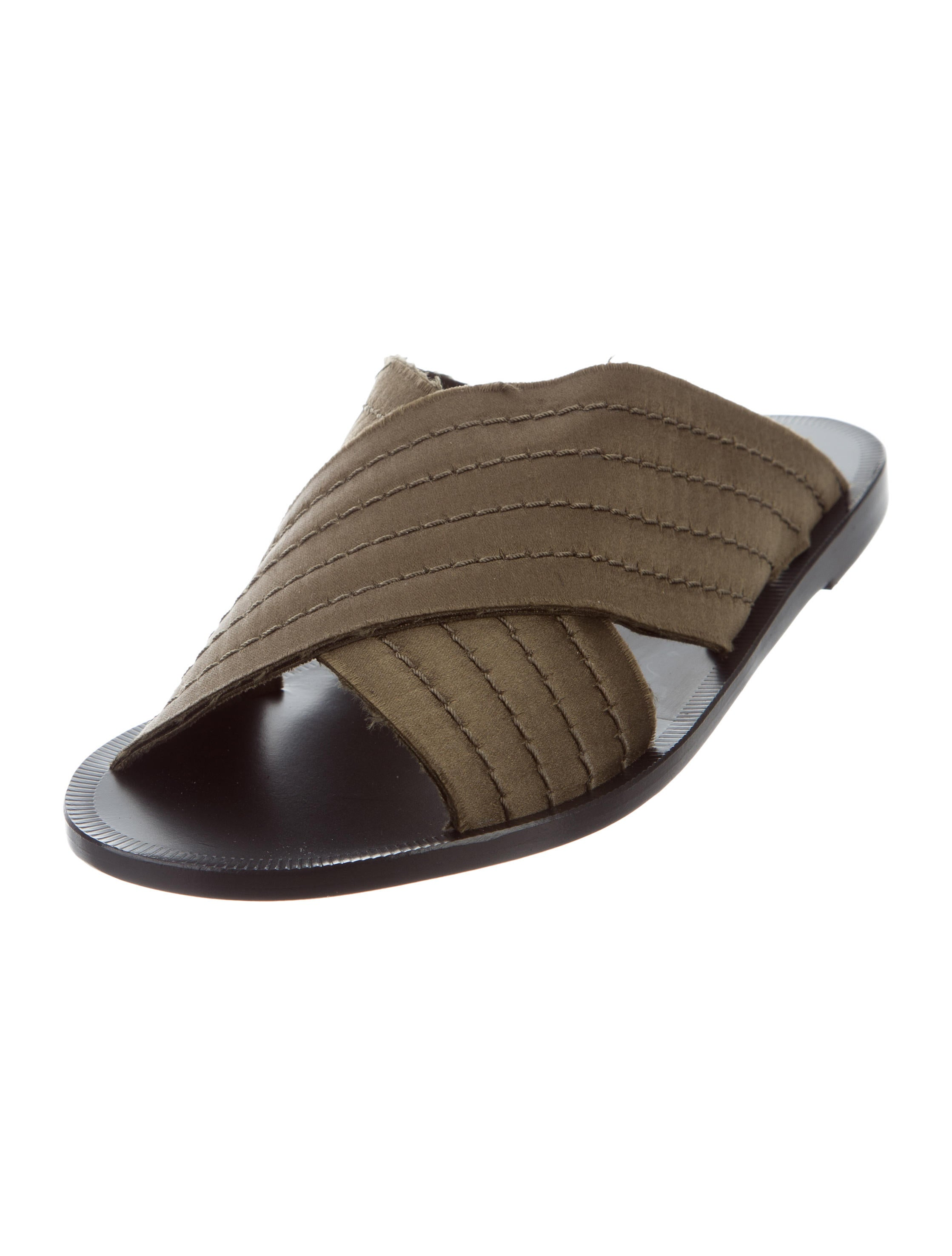 Pedro Garcia Zissi Slide Sandals w/ Tags outlet buy sale prices cheap new free shipping 100% original UypbRIZX