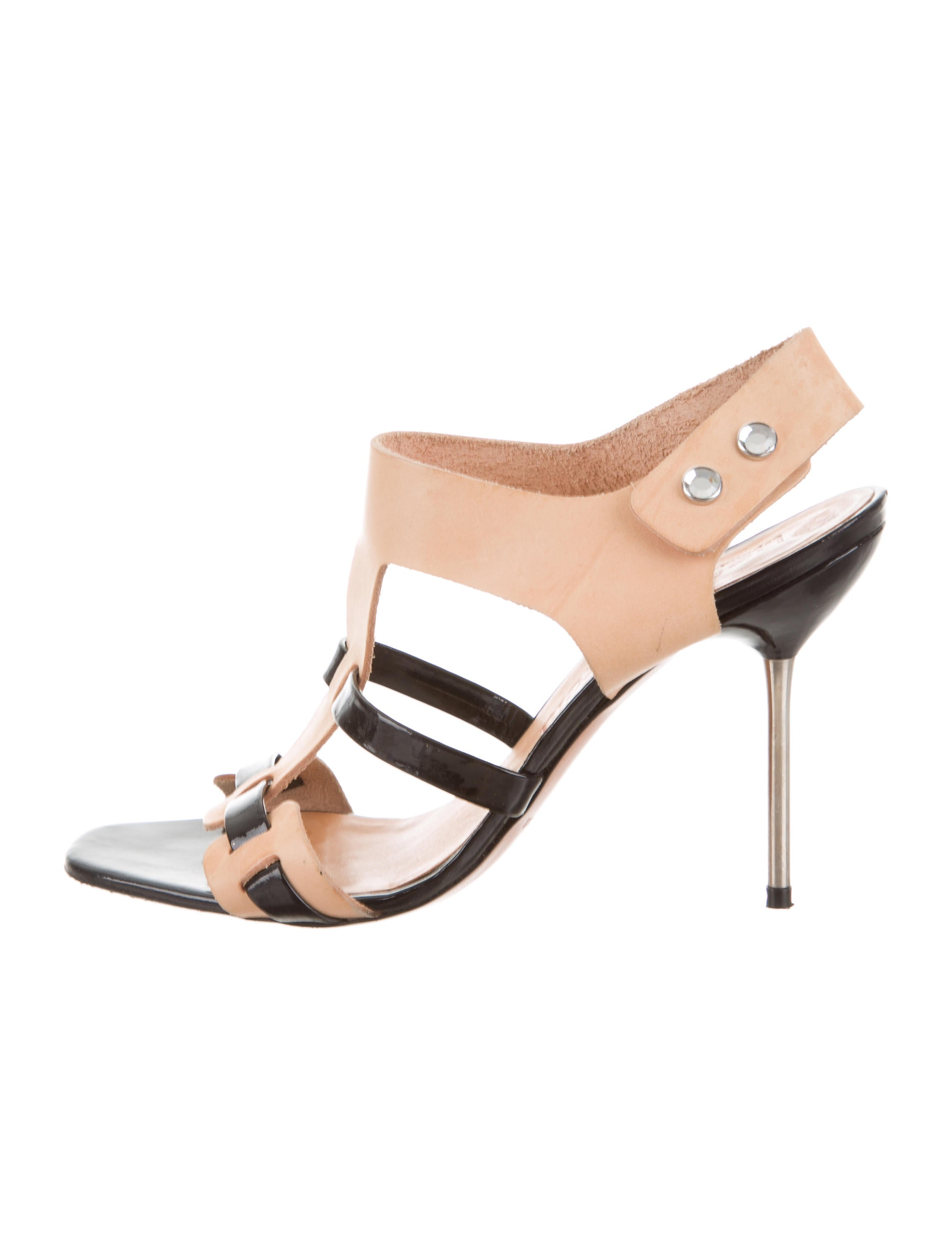 get authentic sale online quality outlet store Pedro Garcia Multistrap Leather Sandals 100% authentic for sale xIJrga