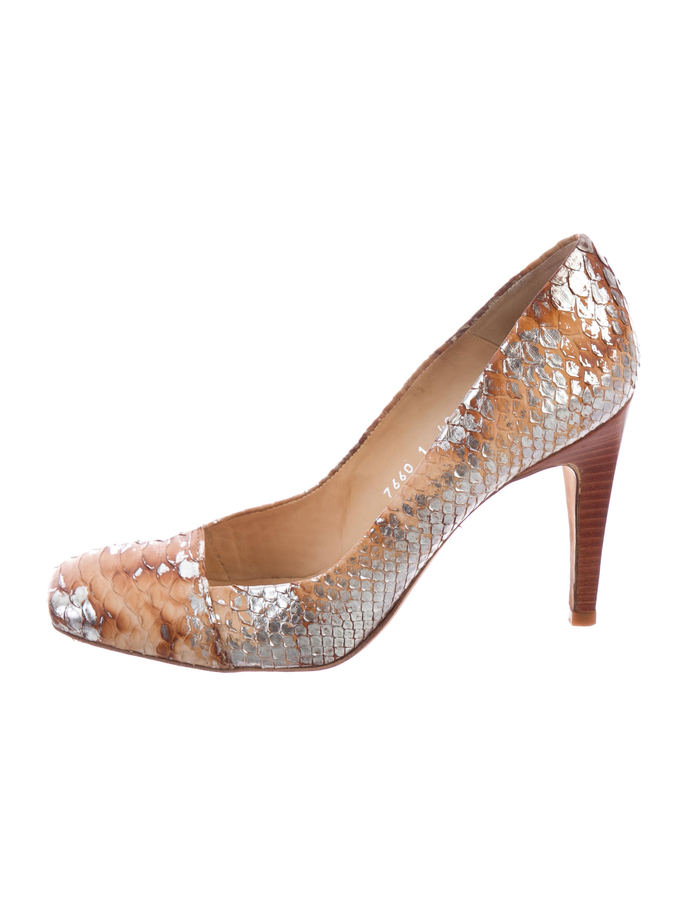 outlet order online Pedro Garcia Linette Python Pumps buy cheap visit new discount reliable cheap sale free shipping 32DmsRJyu