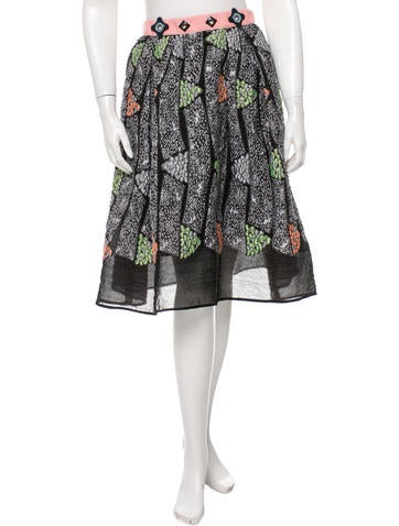 Peter Pilotto Pre-Fall 2015 Kinetic Skirt w/ Tags
