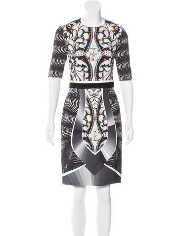 Peter Pilotto Eva Wave Print Dress