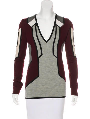 Peter Pilotto Wool & Silk-Blend Sweater w/ Tags None