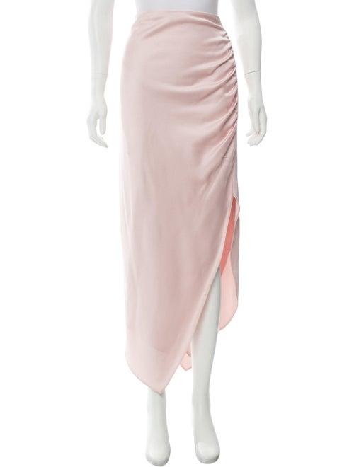 Peter Pilotto Asymmetrical Maxi Skirt w/ Tags Pink