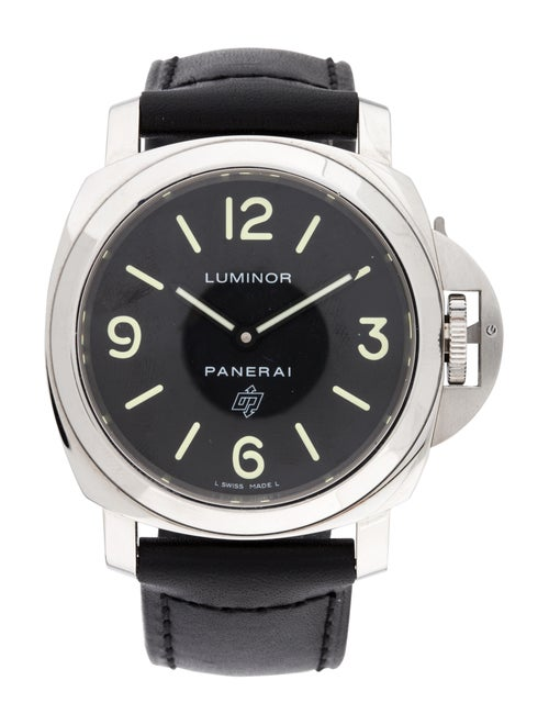 Panerai Luminor Base Logo Watch black
