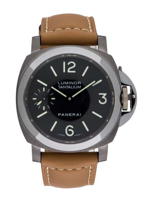 Panerai Luminor Marina Tantalium Watch black