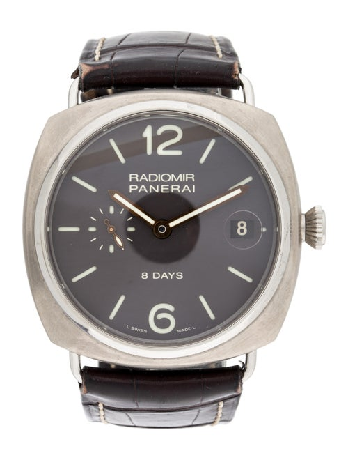 Panerai Radiomir 8 Days Watch brown