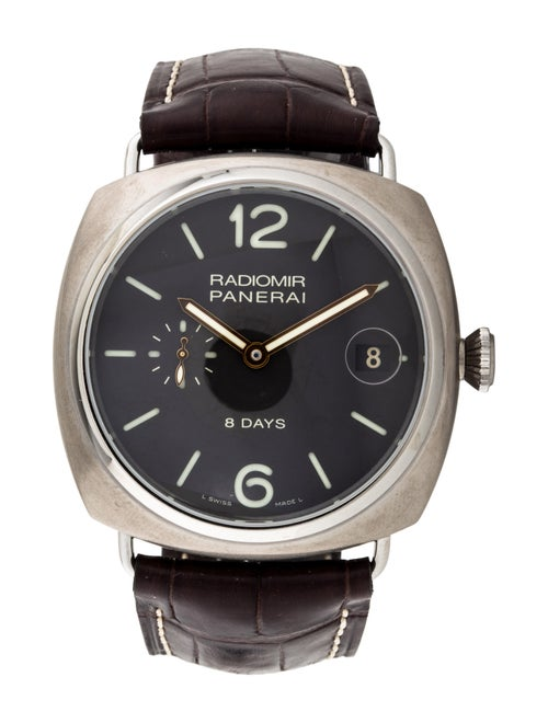 Panerai Radiomir 8 Days Watch black