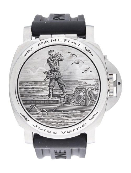 Panerai Luminor Sealand Jules Verne Watch black