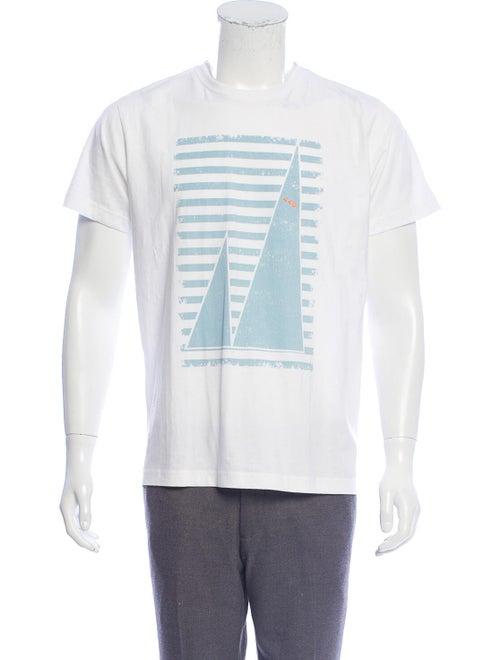 Panerai Graphic Short Sleeve Top White