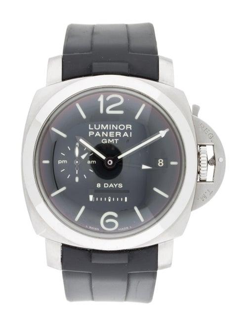 Panerai Luminor 8 Days GMT Watch black