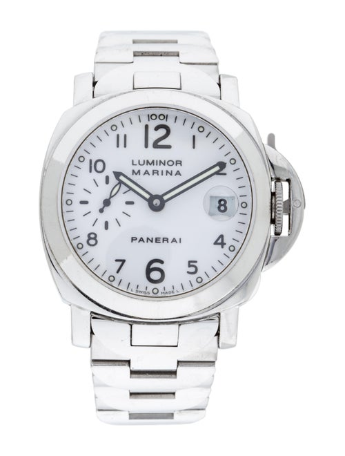 Panerai Luminor Marina Watch white