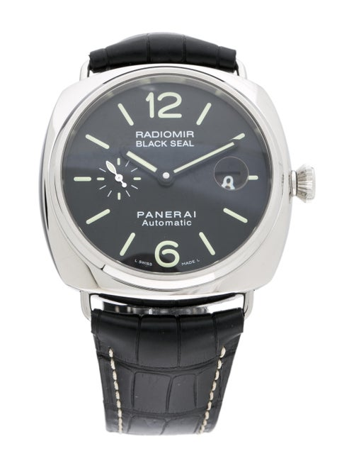 Panerai Radiomir Black Seal Watch Black