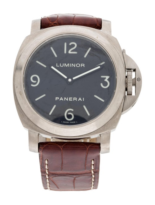 Panerai Luminor Watch black
