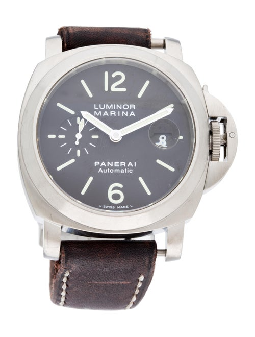 Panerai Luminor Marina Titanium Watch Brown