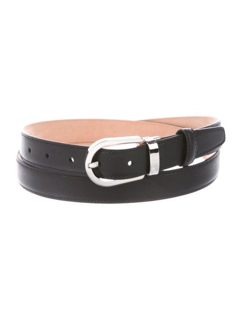 Panerai Leather Waist Belt black