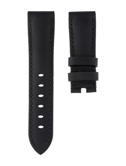 Panerai 20mm Leather Watch Strap Black
