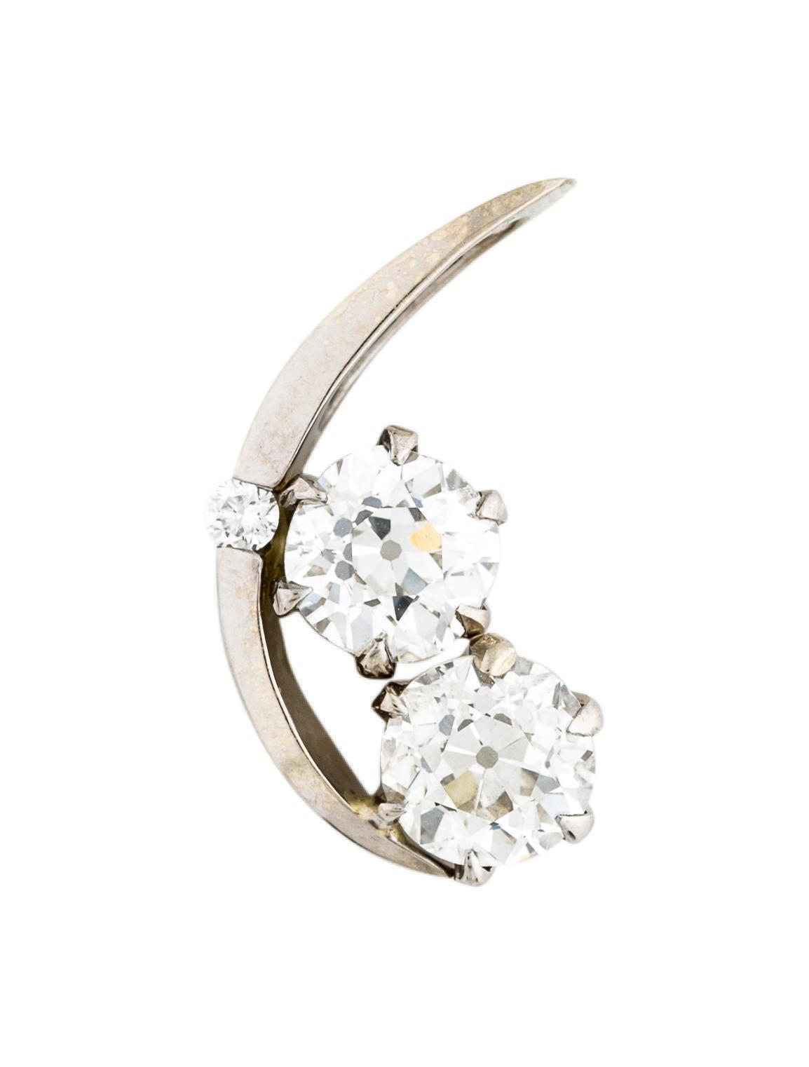 Pendant 14k 2 33ctw Diamond Moon Pendant